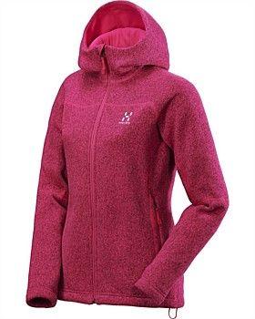 Haglofs Swook Q Logo Hoodie - Women's > VolPin