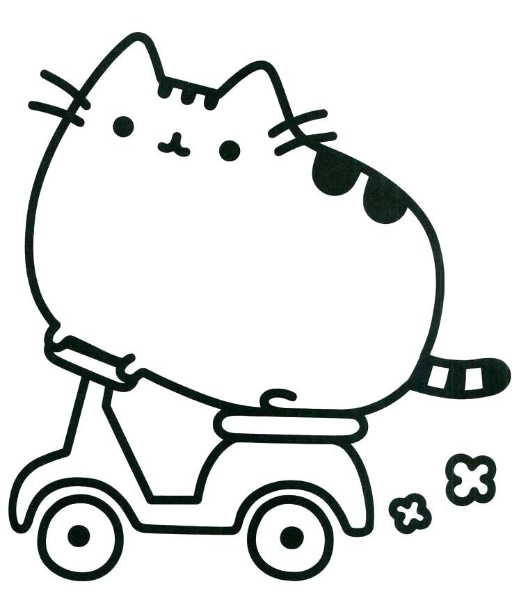 cute coloring pages pusheen coloring pages free page cute animals ...