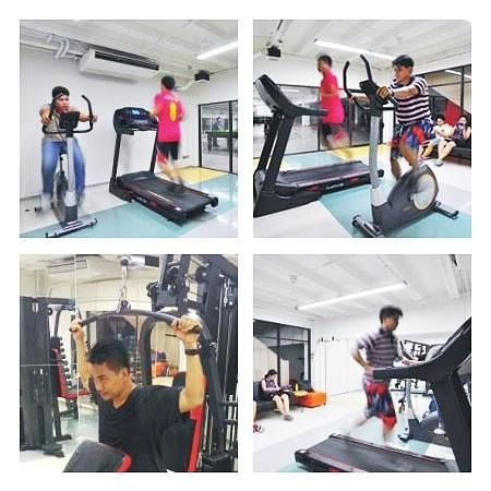 """Practika has activities provided for every staffs with healthy concern. """"Fit & Firm Club"""", where we look forward to seeing everyone a good working life balances through the work sociality and sustainable health. At Practika, our fitness services are available to support our staffs to workout, together with bathrooms and lockers there. Don't forget to take care of yourself! #PractikaFuelingDesignsAlive"""