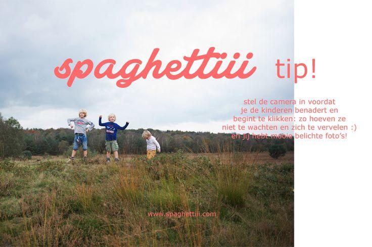 fotografeer (je) kinderen naturel en relaxt! spaghettiii-tip1
