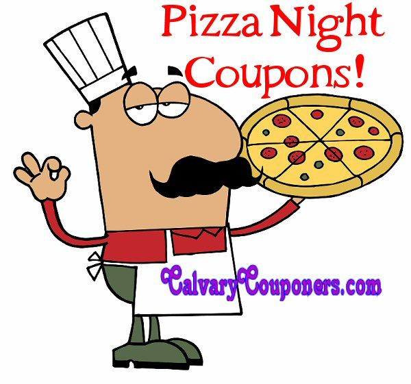 Pizza Coupon Codes for Pizza Night Dinner! - CalvaryCouponers.com
