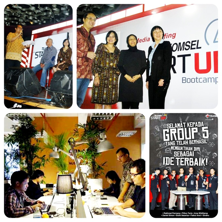 Telkomsel Startup Bootcamp. organized by IDS (www.idseducation.com). KARK is the winner for the competition by Sindhu, Bullit and friends.