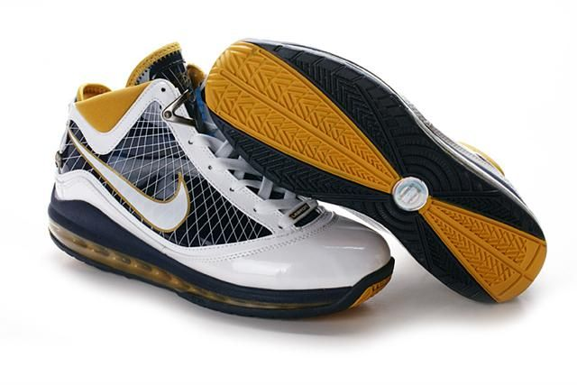 http://www.airfoamposite.com/nike-lebron-7-navy-white-gold-p-304.html NIKE LEBRON 7 NAVY WHITE GOLD Only $84.35 , Free Shipping!