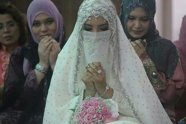 Muslim bride! Beautiful
