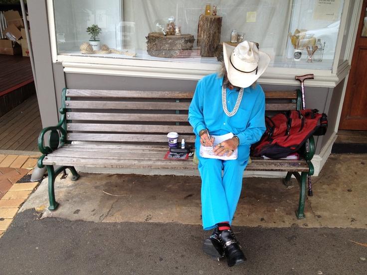Space cowboy of Bangalow