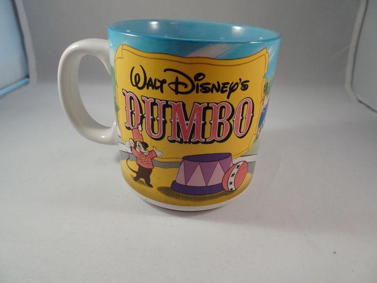 Disney Dumbo Mug, Disney Cup, Disney World Cup, Disneyland, Disneyland Mug, Disneyanna, Disney Store, Dumbo Elephant, Baby Mine, Walt Disney by QualityRetroWare on Etsy https://www.etsy.com/listing/267730618/disney-dumbo-mug-disney-cup-disney-world