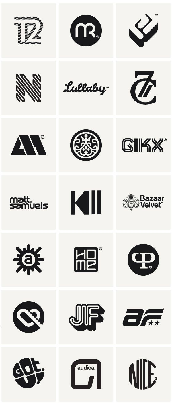 Logos & Marques 2010 // Socio Design