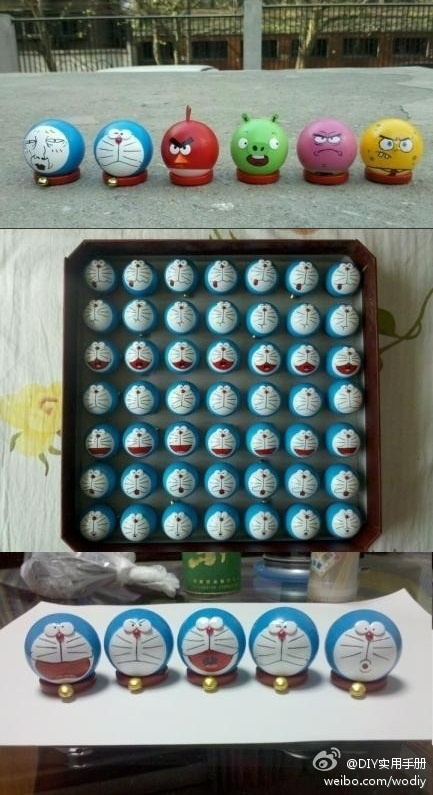 15 best ping pong ornaments images on pinterest for Small ping pong balls