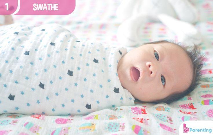 The swathe method of baby sleep training | Sleep training ...