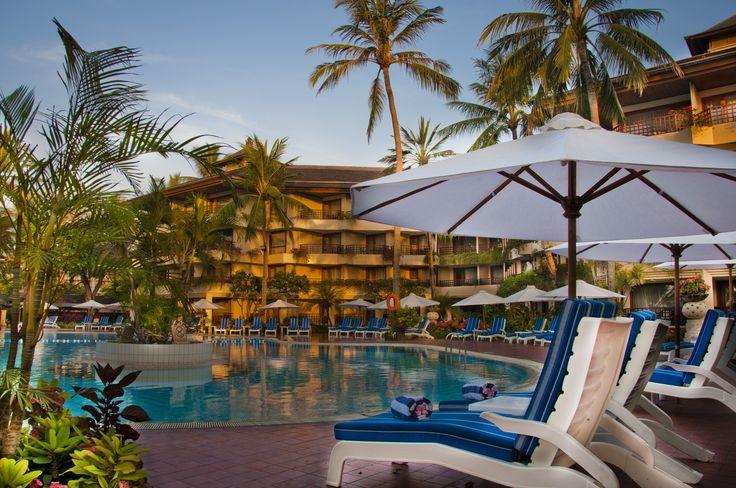 Olympic Pool Side Sanur Beach Hotel Bali