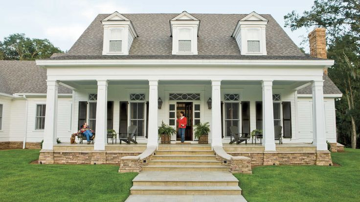New House, Timeless Character - Southern Living - Gather inspiration from the timeless character of Mitch and Gaye Drew's new Lowcountry, farmhouse-style home.