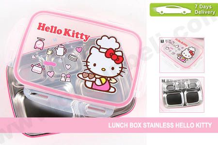 Frozen or Hello Kitty animation stainless steel lunch box hanya Rp 99.999 http://groupbeli.com/view.php?id=759