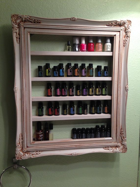 I just made this! Frame Shelf For Essential Oils Fingernail by JeraldBuildsStuff Use promo Code PINTEREST to save 10% off anything in my store.