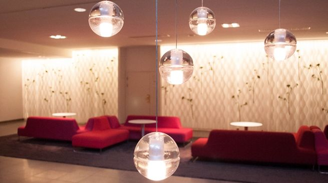 #glass #lamps at  Quality Hotel Park Södertälje City