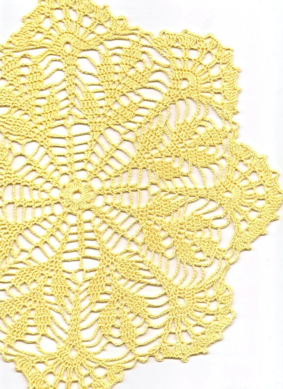 Crochet doily lace doilies table decoration by DoilyWorld on Etsy, £7.00