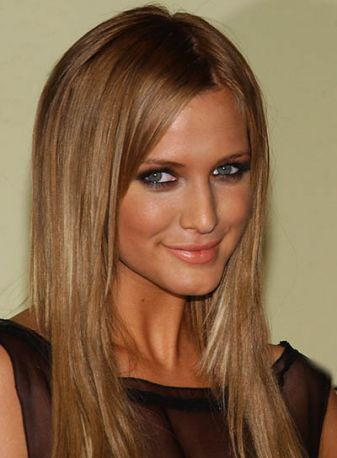 Dark blonde/ light brown hair Hmmm... Thinking of doing this for the