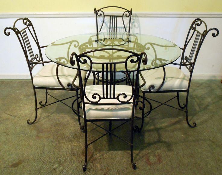 Best 25+ Wrought Iron Chairs Ideas On Pinterest