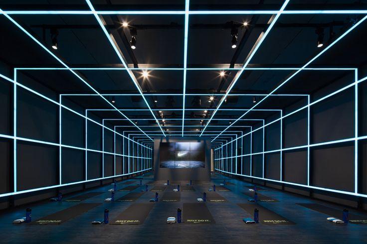 coordination asia installs 'the NIKE studio' within beijing art gallery