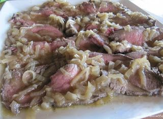 Denny Chef Blog: Roastbeef all'inglese con salsa di cipolle