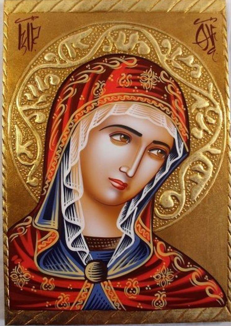 """Madonna icono ortodoxo """"Virgen María"""""""