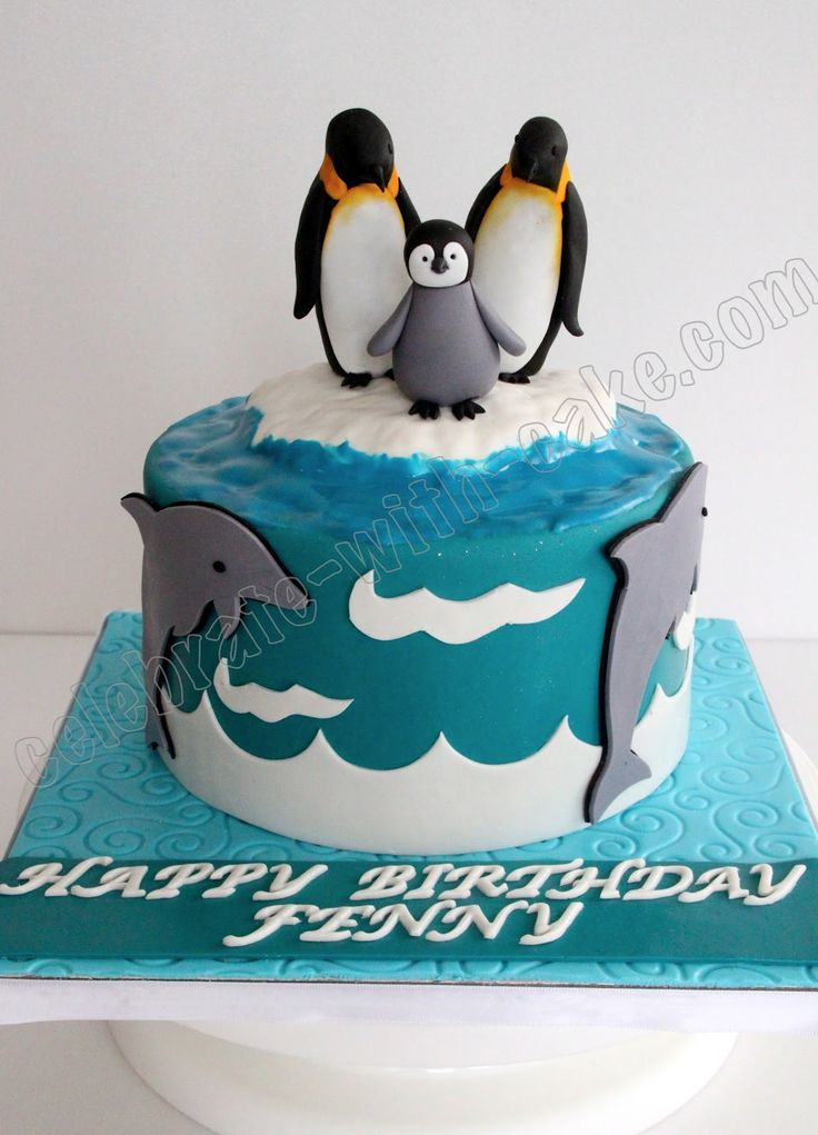 How To Make Penguin Wedding Cake Topper Best Ideas About Cakes On Winter