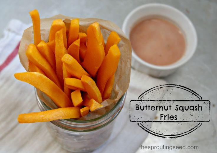 butternut squash fries thesproutingseed.com