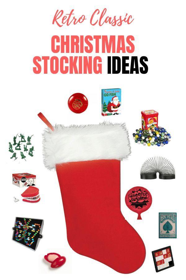 15f7547e5c5 Retro Classic Christmas Stocking Filler ideas