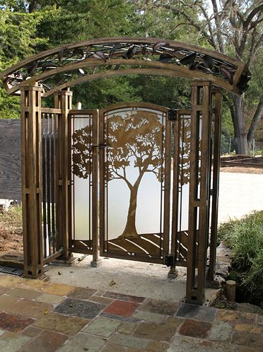 Metal Worx Inc >> 17 Best images about Garden Gates on Pinterest | Gardens ...