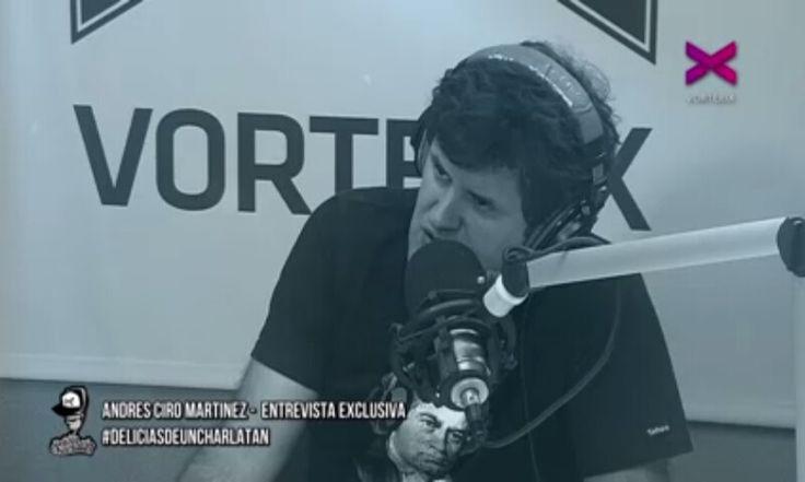 Andres ciro en Vorterix presentando Juira!