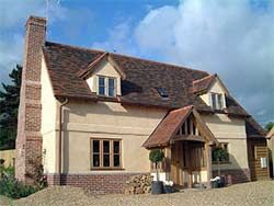 timber frame straw bale homes uk - Google Search