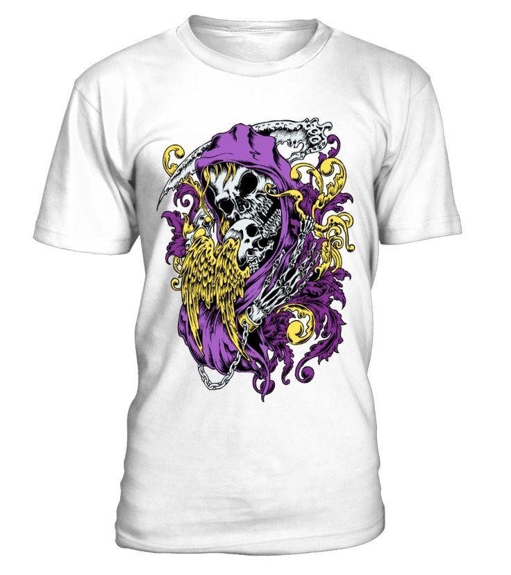 Skull death with dead angel  #movies #moviesshirt #moviesquotes #hoodie #ideas #image #photo #shirt #tshirt #sweatshirt #tee #gift #perfectgift #birthday #Christmas