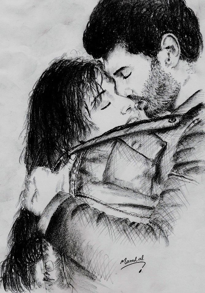 Aashiqui 2 movie pencil drawingpencil drawing