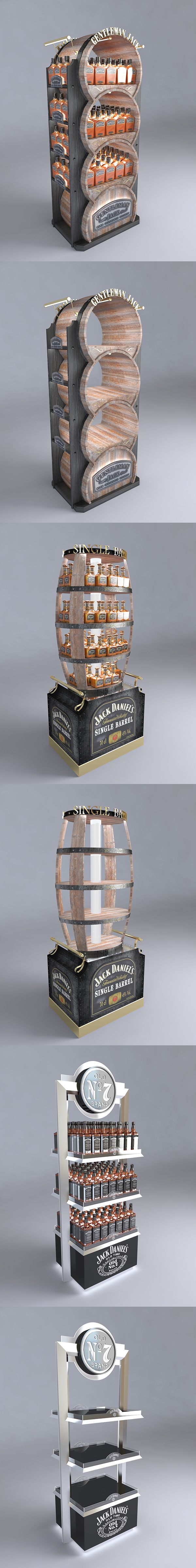 Jack Daniel's stand 2013 on Behance