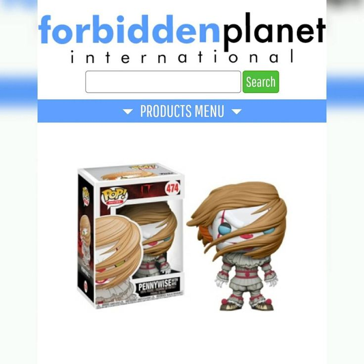FP has Pennywise w/ Wig available on their website. This will not come with a Wal-Mart sticker. . https://www.forbiddenplanet.co.uk/it-pop-vinyl-figure-pennywise-clown-with-wig? . #funko #funkopop #funkopops #funkocollector #funkocollection #funkopopcollector #funkopopcollection #funkomaniac #toycollector #vinylfigures #funkomania #vinylfigure #toycollection #funkofamily #toycollector #toycollection #funkocommunity #funkofunatic #popoholicmaniac #funkopopphotography #popphotography…