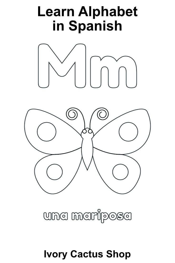 Printable ABC Tracing Pages In Spanish and Alphabet Flash Cards ...
