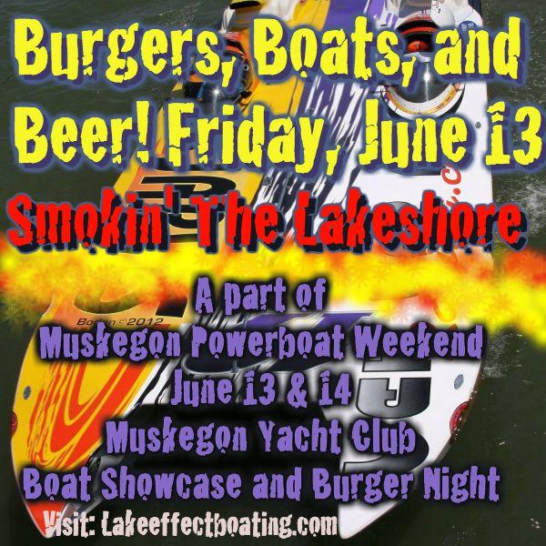 """Yacht Club Beer: 9 Best Muskegon """"Smokin"""" The Lake"""" Powerboat Weekend"""