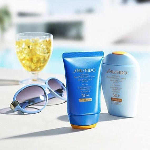 For a safe #summer skin, #NeimanMarcus loves #Shiseido #sunscreen with #WetForce technology. Credit: Neiman Marcus Instagram. #ShiseidoSun #travel #getaway