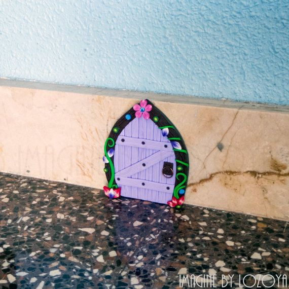 Fairy Door Model Camelia // Puertas de hadas por imaginebylozoya