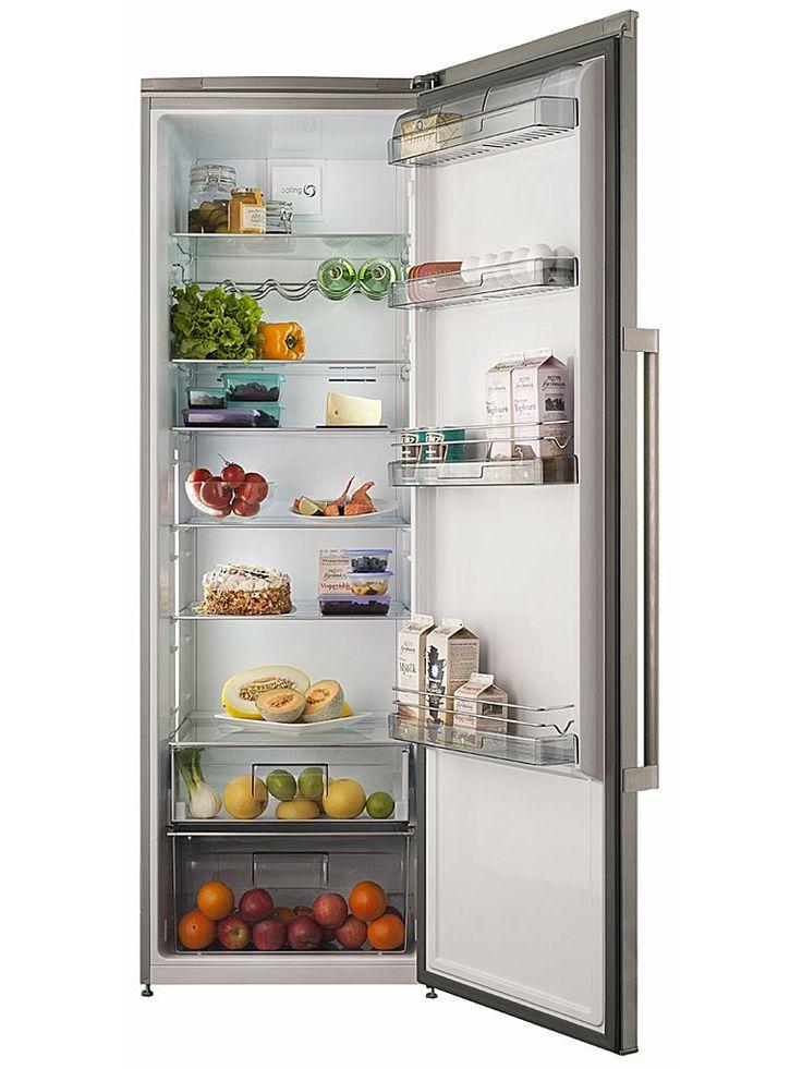Cylinda K 8185 RF - Rostfritt och rymligt kylskåp.