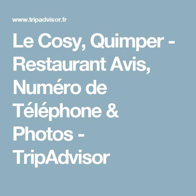 Le Cosy, Quimper - Restaurant Avis, Numéro de Téléphone & Photos - TripAdvisor