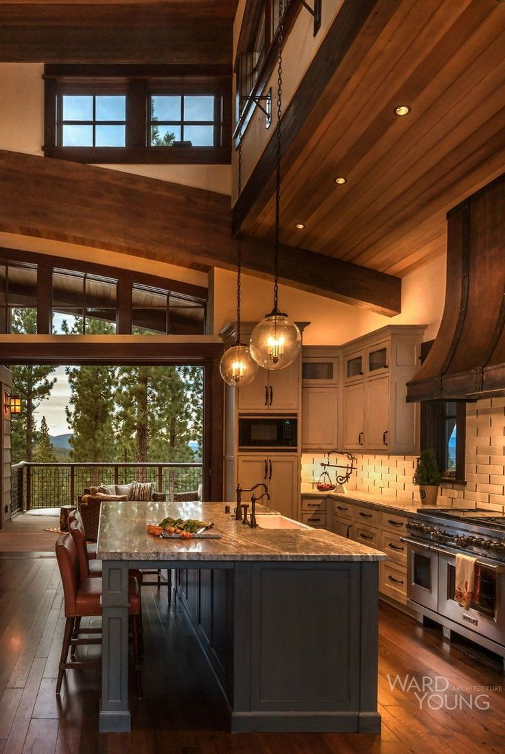 Home Plate Lodge Martis Camp Lake Tahoe Kitchen Cabinet Colorskitchen