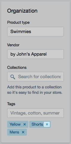 Delete product tag