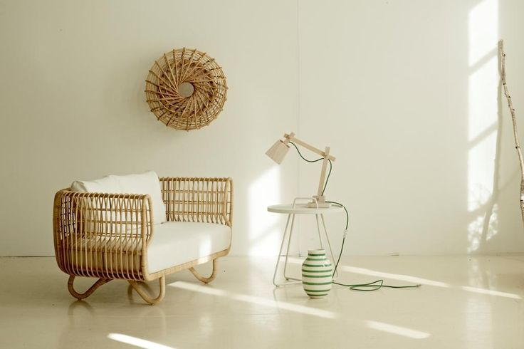 NEST LOUNGE sofa rattanowa. Design: Foersom & Hiort-Lorenzen MDD