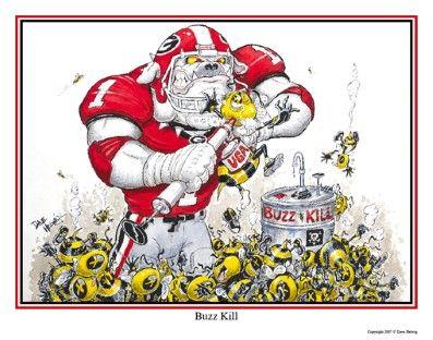 50 Best Dave Helwig S Georgia Bulldogs Football Art