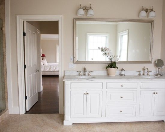 traditional bathroom lighting ideas white free standin. Jazzy Master Bathroom In Monochromatic Interior: Awesome Croton Bath Project With Traditional Design Lighting Ideas White Free Standin A