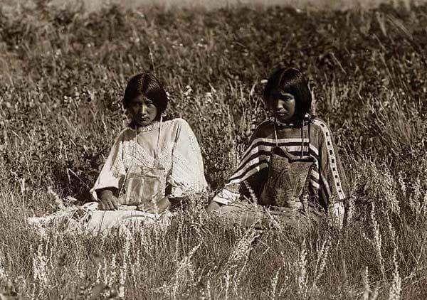 Женщины пикуни