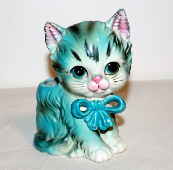 vintage cat vase - Yahoo Image Search results