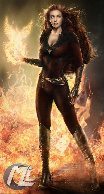 Dark Phoenix by Maryneim.deviantart.com on @deviantART