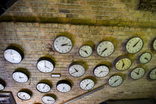 Salvage One: Salvaged Clocks, Watches Clocks