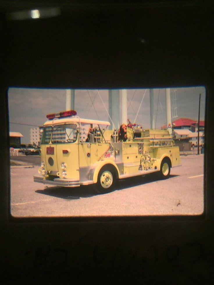 Fire Apparatus Slide Covina, California FD Crown Engine 291